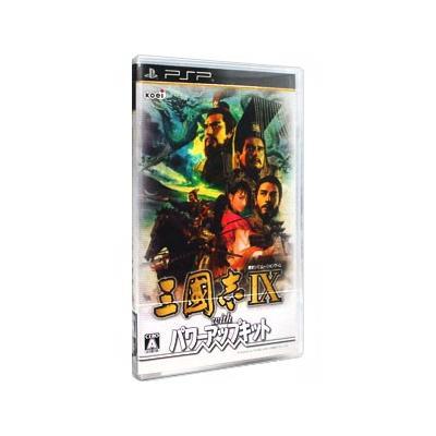 【PSP】 三國志IX with パワーアップキットの商品画像
