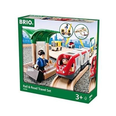 BRIO レール&ロードトラベルセット 33209の商品画像