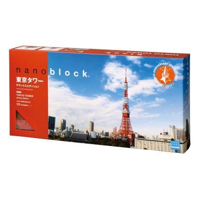 ナノブロック 東京タワー Deluxe Edition NB_018の商品画像