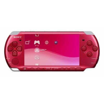 PSP バリューパック PSPJ-30001 (ラディアント・レッド)の商品画像