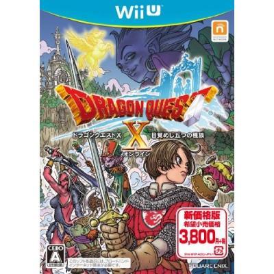 【Wii U】 ドラゴンクエストX 目覚めし五つの種族 オンラインの商品画像