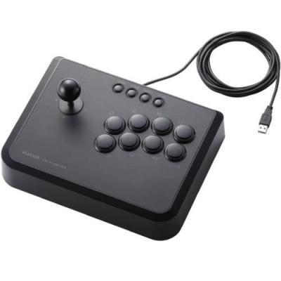 PS3 ゲーム機用10ボタンUSBアーケードスティック [ブラック] JC-GMAS01BKの商品画像