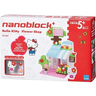 ナノブロックプラス ハローキティシリーズ ハローキティ フラワーショップ PK-004の商品画像