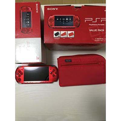 PSP バリューパック PSPJ-30010 (ラディアント・レッド)の商品画像