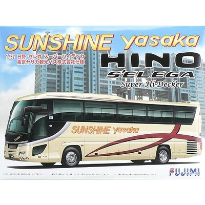 日野セレガ SHD 東京ヤサカ観光バス仕様 (1/32スケール 観光バス BUS-7 011486)の商品画像