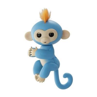 小っちゃな手のりモンキー ハグミン(ブルー)の商品画像