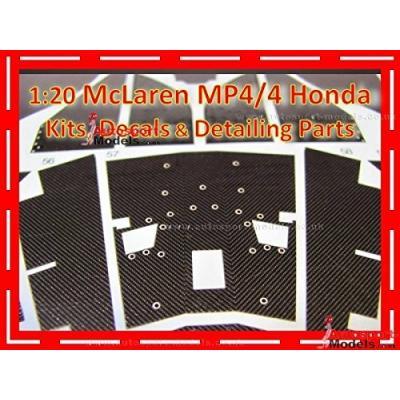 MP4/4 Carbon decal (1/20スケール デカール ST27-CD20001)の商品画像