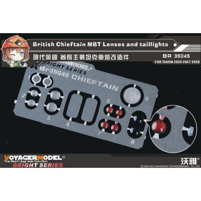 現用英 チーフテン Mk.10 レンズ・尾灯セット (タコム2028用) (1/35スケール エッチングパーツ BR35045)の商品画像