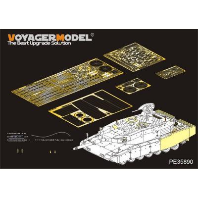 現用独 レオパルト2A4 レボリューション1 エッチング基本セット (タイガー4629用) (1/35スケール エッチングパーツ PE35890)の商品画像