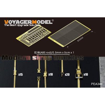 現用 ストラップ &バックルセット 汎用 (1/35スケール PEA348)の商品画像
