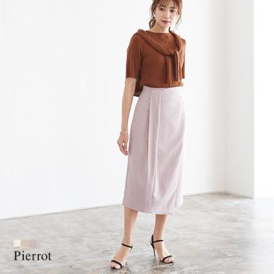 タックリボン風ラップスカート