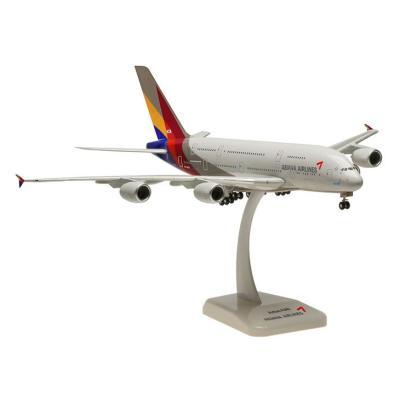 A380-800 アシアナ航空 ランディングギア/スタンド付キ (1/200スケール 0168GR)の商品画像