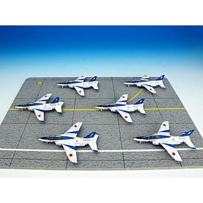 川崎 T-4 ブルーインパルス 6機セット (初回限定) (1/144スケール ダイキャスト AV440010)の商品画像