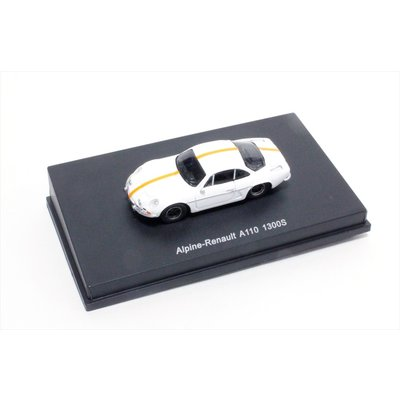 Alpine A110 1300 1966 White / Orange Stripes (1/87スケール 87S100)の商品画像