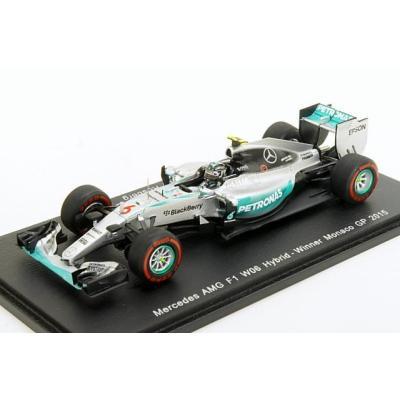 Mercedes F1 W06 n.6 2015 Mercedes AMG Petronas Formula One Team Nico Rosberg (1/43スケール S4601)の商品画像