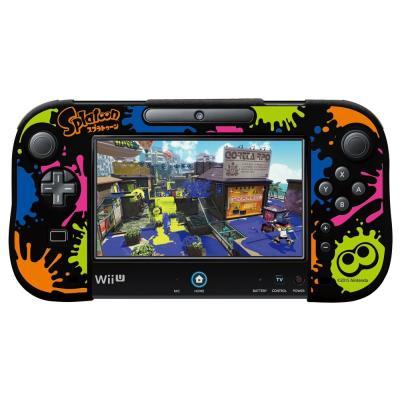 シリコンカバーコレクション for Wii U GamePad(スプラトゥーン) Type・B SCU-003-2の商品画像