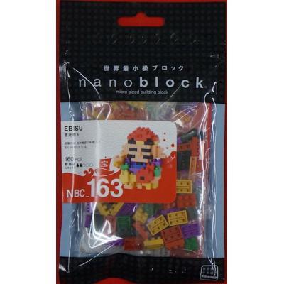 ナノブロック 恵比寿天 NBC_163の商品画像