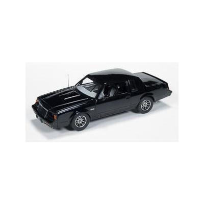 1:43 ertl//auto World Buick Grand National 1985 Black