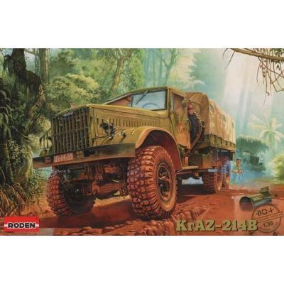 ロシア クァーズKrAZ214B 6輪重トラック1960年代 (1/35スケール 035T804)の商品画像