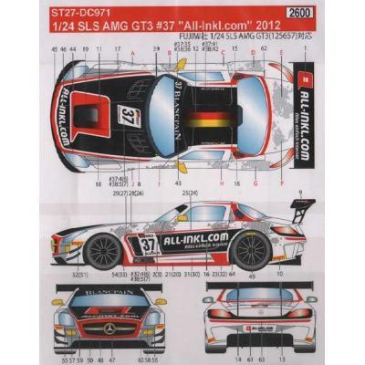 メルセデスベンツ SLS AMG GT3 #37 All-In (1/24スケール ST27-DC971)の商品画像