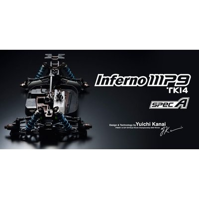 1/8RC インファーノ MP9 TKI4 スペックA 33007の商品画像