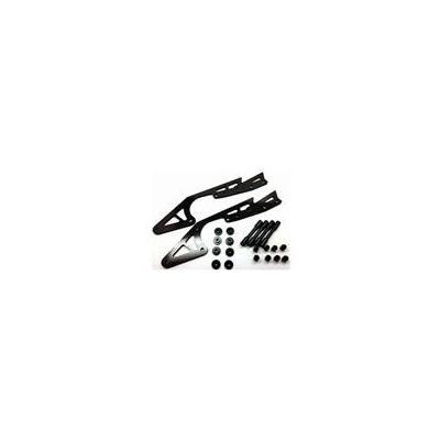 カーボンロングサブシャーシ (タミヤ ワイルドウイリー2用)ブラック SWR-10BKの商品画像