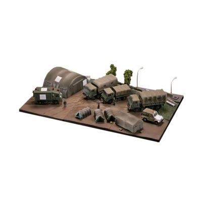 陸上自衛隊 装備品セット (1/144スケール AC904 技MIX 飛行機 232513)の商品画像