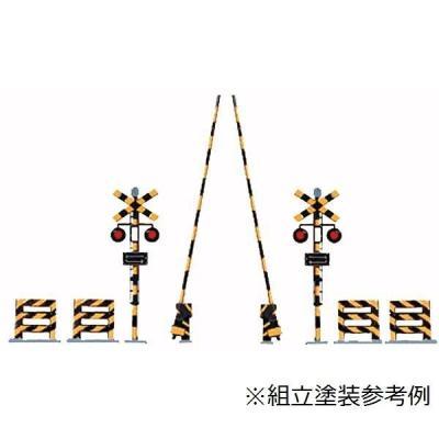 津川洋行 HOスケール 踏切(衝突防止柵4本付き)未塗装キット HA-5の商品画像