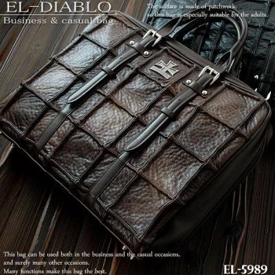 EL-DIABLO ビジネスバッグ パッチワーク