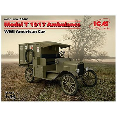 T型フォード 1917 救急車 (1/35スケール 35661)の商品画像