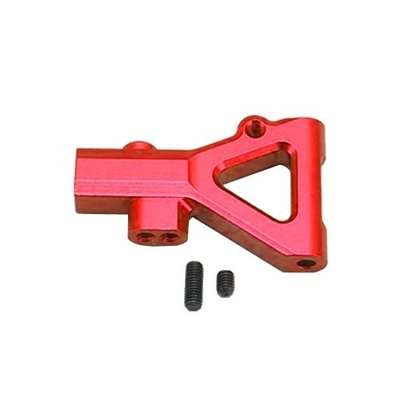 """DIB/DRB用 アルミ製フロントロア """"A""""アーム (レッド) IB-008FRの商品画像"""