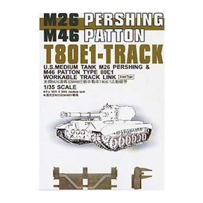 M26 /M46 戦車用 T80E1 キャタピラ (1/35スケール 可動式連結キャタピラ・サスペンション FV35036)の商品画像