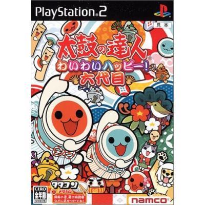 【PS2】 太鼓の達人 わいわいハッピー!六代目 (ソフト単体版)の商品画像