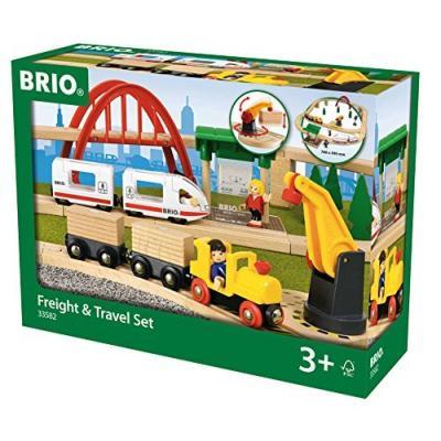 BRIO 貨物&トラベルセット 33582の商品画像
