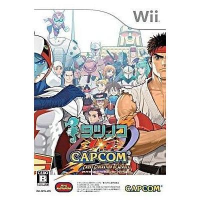 【Wii】 タツノコ VS. CAPCOM CROSS GENERATION OF HEROESの商品画像
