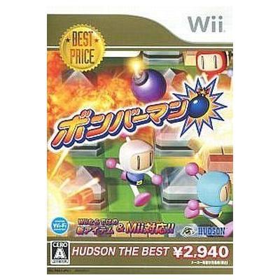 【Wii】 ボンバーマン [ハドソン・ザ・ベスト]の商品画像