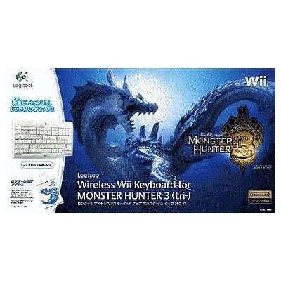 ワイヤレスWiiキーボード for モンスターハンター3(トライ)の商品画像