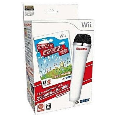 【Wii】 カラオケJOYSOUND Wiiの商品画像