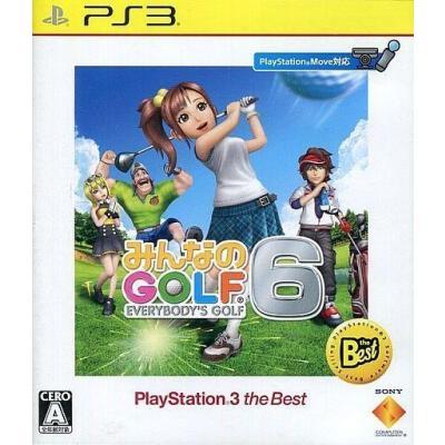 【PS3】 みんなのGOLF 6 [PS3 the Best]の商品画像