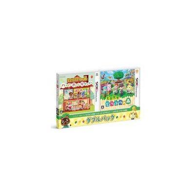 【3DS】 どうぶつの森 ハッピーホームデザイナー・とびだせ どうぶつの森 ダブルパックの商品画像