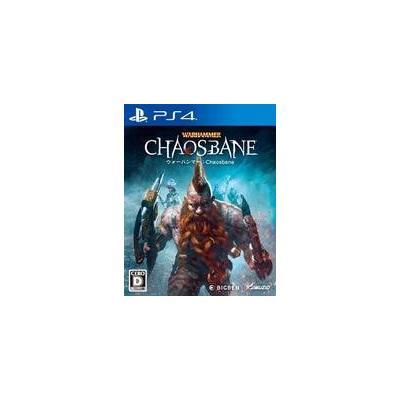 【PS4】 ウォーハンマー:Chaosbaneの商品画像
