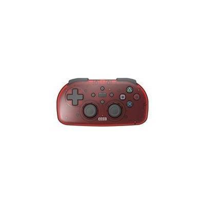 ワイヤレスコントローラーライト for PlayStation4/PlayStation3/PC クリアレッド PS4-134の商品画像