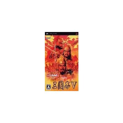 【PSP】 三國志V [コーエー定番シリーズ]の商品画像