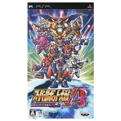 【PSP】 スーパーロボット大戦A PORTABLEの商品画像
