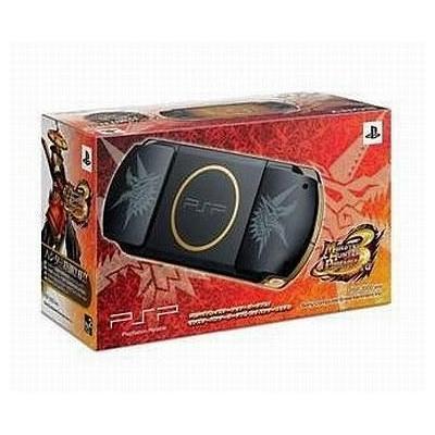 PSP プレイステーション・ポータブル (PSP-3000) モンスターハンターポータブル 3rd ハンターズモデルの商品画像