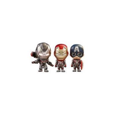 コスベイビー アベンジャーズ/エンドゲーム キャプテン・アメリカ&アイアンマン&ウォーマシン(チームスーツ版)<3体セット> (サイズS)の商品画像