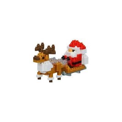 ナノブロック サンタクロースとトナカイ NBC_234の商品画像
