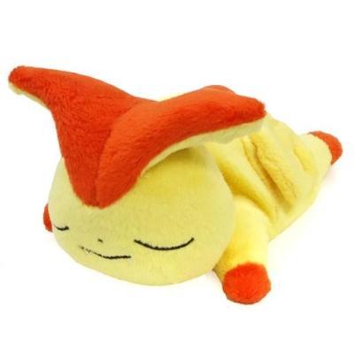 ポケモンセンターオリジナル くったりぬいぐるみ おやすみver (ビクティニ)の商品画像