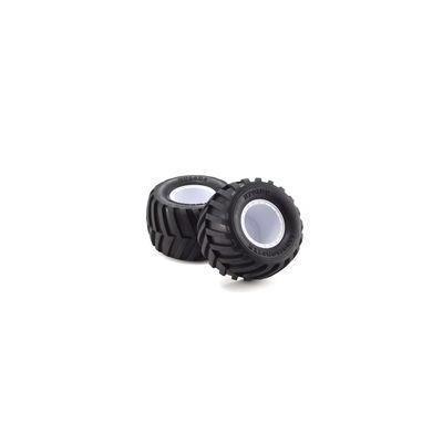 接着済みタイヤ&ホイルセット(FZ02L-BT/ホワイト/ソフト/2入) EZTH001WSの商品画像