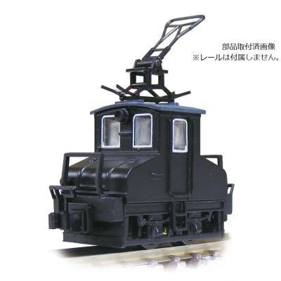 津川洋行 銚子電気鉄道 デキ3 電気機関車(ビューゲル仕様)車体色:黒 14041の商品画像